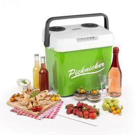 Klarstein Picknicker XL termo chladicí box 32L A ++ AC DC auto zelená