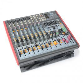 Power Dynamics PDM-Š1203,12 kanálový mixpult USB,DSP,AUX,EQ