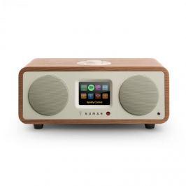 Numana One – 2.1 designové internetové rádio, ořech, 20 W, bluetooth, Spotify Connect, DAB +