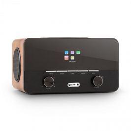 Auna Connect 150 BK, 2.1 internetové rádio s přehrávačem médií, WD, WiFi, LAN, USB, DAB +, FM, RDS