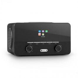Auna Connect 150 BK, 2.1 internetové rádio s přehrávačem médií, WiFi, LAN, USB, DAB +, FM, RDS