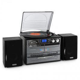 Auna TC-386WE, magnetofon, CD, gramofon, USB, SD