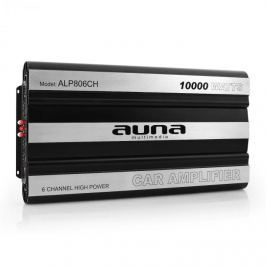 Auna W1-AMP806CH, 6-kanálový zesilovač do auta, 10000W