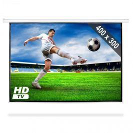 """FrontStage PSAC200"""", promítací plátno 400 x 300 cm s mot. pohonem, HDTV, 4:3"""