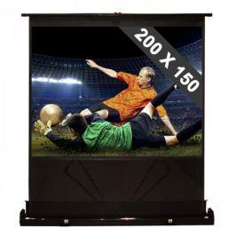 """FrontStage QSFC-100"""", rozkládací promítací plátno, 200 x 150 cm, 4:3"""