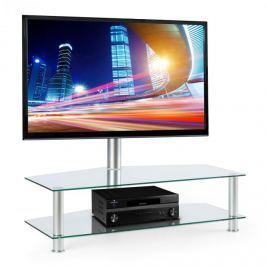 Electronic-Star FAVS19, TV držák s policemi z bezpečnostního skla