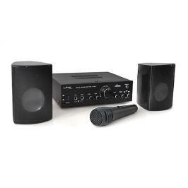 Set LTC Star 1, zesilovač, 2 reproduktory, mikrofon, karaoke
