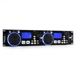 Ibiza IDJ2 dvojitý USB, SD, MP3, DJ Controller, Scratch