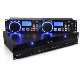 Ibiza Global DJ, dvojitý CD přehrávač, USB SD MP3 Scratch