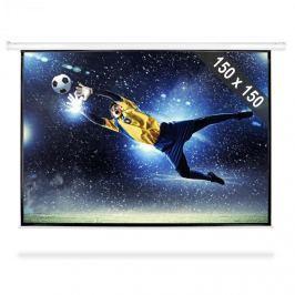 """FrontStage PSBB-80"""", rol. promítací plátno, 150 x 150 cm, 1:1"""