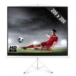 """FrontStage PS-PSDB-112"""", plátno se stativem 200 x 200 cm, úhl. 284 cm"""