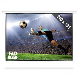 FrontStage PSED-108, HDTV rolovatelné plátno, 240x135cm 16:9