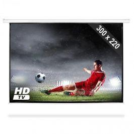 """FrontStage PS-PSAC-150"""", promítací plátno 300 x 220 cm s mot. pohonem, HDTV, 4:3"""