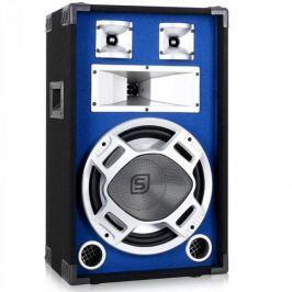 Skytec 178.503, PA reproduktor, 30 cm, modrý, LED světelný efekt 600W