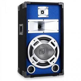 PA reproduktor Skytec, 25 cm (10'') subwoofer, modrý LED efe