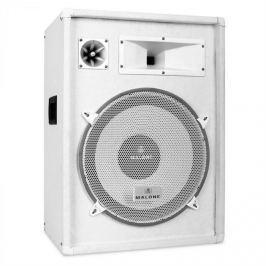 Malone PW 1522, PA reproduktor s výkonem 800 W, bílá barva