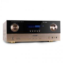 7.1 AV přijímač Auna AMP-7100, 2000W zesilovač bronzový