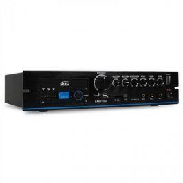 PA zesilovač LTC PAA210DVD, DVD přehrávač, USB, MP3, 24 V