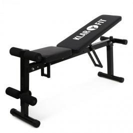 Klarfit FIT-HB1, posilovací lavice pro trénink břišního svalstva