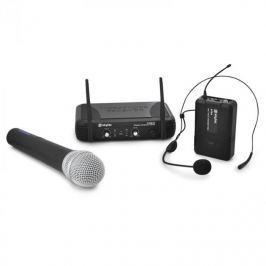 Bezdrátový mikrofonní set Skytec STWM722,UHF ruční mikrofon