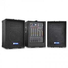 Přenosný PA systém Skytec PA 100, USB, MP3, 4-kanálový mixér