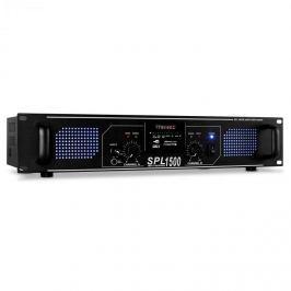 Skytec SPL-1500 MP3 černý, zesilovač 4200 W, USB/SD/MP3