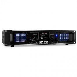 Skytec SPL-2000 MP3 černý, zesilovač 5600W, USB/SD/MP3