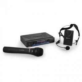 VHF mikrofonový set QTX 171.810, 2-kanálový, bezdrátový