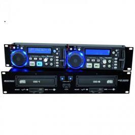 Omnitronic XDP-2800, dvojitý CD přehrávač, SD, USB
