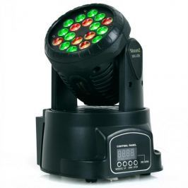 Beamz 150.509, LED 108 Movinghead RGB, 12/4 kanály, DMX