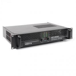 Vonyx Sky-2000 MK II, PA zesilovač 2000W, přemostitelný