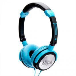 IDance Sluchátka iDance Crazy 501, modro-černé
