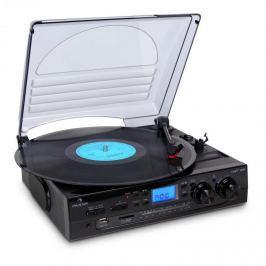 Auna TT-186E, stereo systém, gramofon, USB MP3 nahrávání