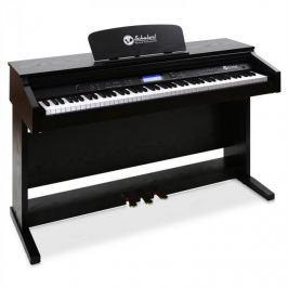 SCHUBERT Elektronický klavír Schubert, 88-kláves, MIDI,3 pedály,černý