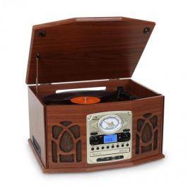 Stereo zařízení Auna NR-620, stereo, MP3 záznam, hnědé