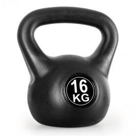 Klarfit Kettlebell, kulové závaží, činka Kettlebell, 16 kg