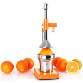 Oneconcept EcoJuicer, lis na odšťavňování, pákový, oranžový