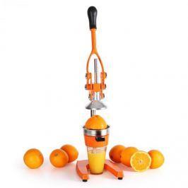 Oneconcept Klarstein OJ1-EcoJuicer XXL, odšťavňovací lis, oranžový