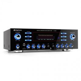 5 kanálový zesilovač Skytronic 103.212 AV-340, karaoke, USB