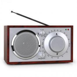 Oneconcept Lausanne-CH, nostalgické rádio, třešeň, FM, AUX