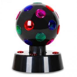 Oneconcept Disco-Ball-4-B, černá, LED světelný efekt, 13,5 cm