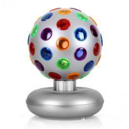 Oneconcept Disco Ball, 7 W, světelný efekt, stříbrný