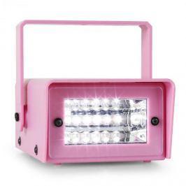 Oneconcept Mini Strobe, LED stroboskop, růžový