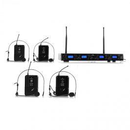 Bezdrátový mikrofonní set Malone UHF-550 Quartett2, 4 kanály
