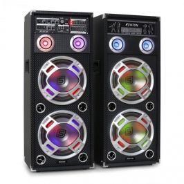 Skytec KA-210 aktivní karaoke PA repro set, USB, SD, AUX