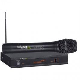 Ibiza VHF-1A, wireless mikrofonní systém, velký frekvenční rozsah, 90 dB