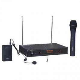 Ibiza VHF2H, bezdrátový mikrofonní systém, 2 x mic