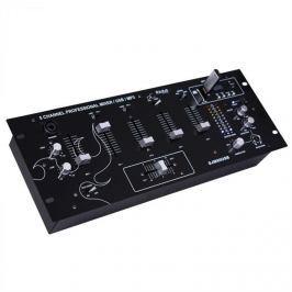 Ibiza DJM90USB-BT, 5kanálový mixážní pult s USB bluetooth SD, do racku