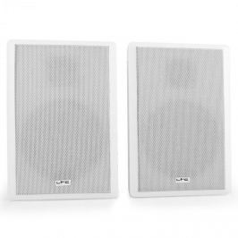 Dvojice extrémně plochých reproduktorů LTC SSP501F-W, bílé