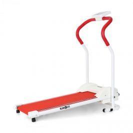 Klarfit Tread Basic, běžecký pás, počítač, červený